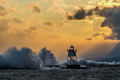 Photograph - Golden Hour Grand Marais by Paul Freidlund