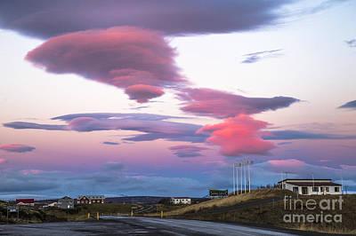 Photograph - Golden Hour Iceland by Hitendra SINKAR