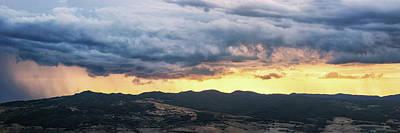 Golden Hour In Volterra Art Print