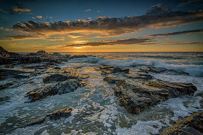 Photograph - Golden Hour In York, Maine by Rick Berk