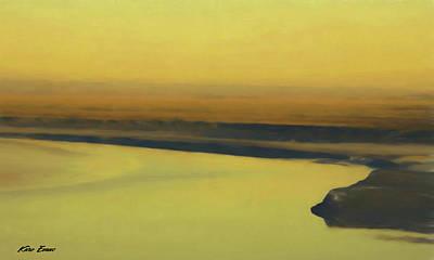 Digital Art - Golden Hour by Karo Evans