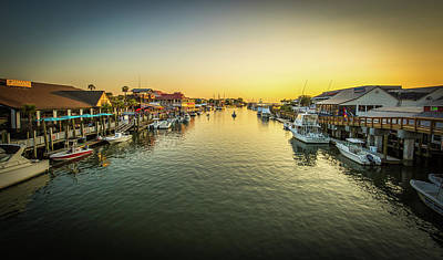 Photograph - Golden Hour On Shem Creek by Donnie Whitaker