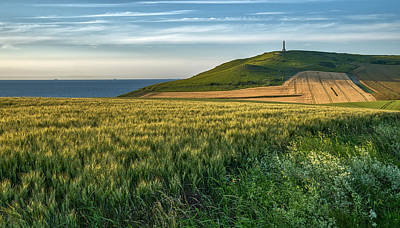Photograph - Golden Hours At North Pas De Calais In France by Jeremy Lavender Photography