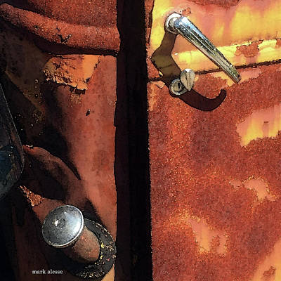Photograph - Golden Hues Of Rust by Mark Alesse
