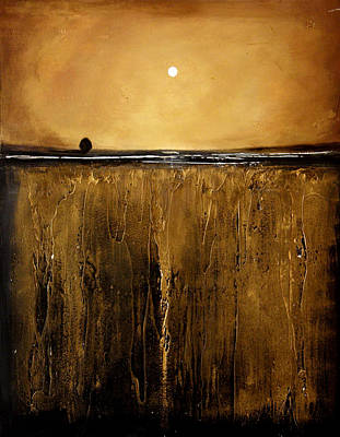 Golden Inspirations Print by Toni Grote