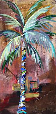Painting - Golden Jasper Palm by Kristen Abrahamson