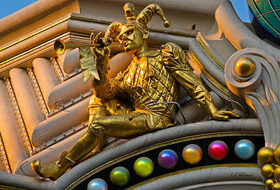 Photograph - Golden Jester by Christopher Holmes