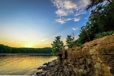 Photograph - Golden Lake by Michael Scott