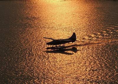Photograph - Golden Landing by Red Cross