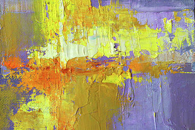 Painting - Golden Lavender by Nancy Merkle