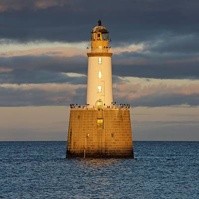 Photograph - Golden Light And Big Skies Above Rattray Head by Stephen Taylor