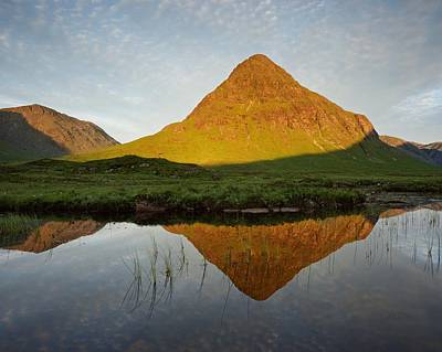 Photograph - Golden Light At Buachaille Etive Beag by Stephen Taylor