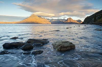Photograph - Golden Light At Elgol by Stephen Taylor