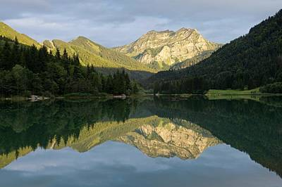 Photograph - Golden Light At Lac De Vallon by Stephen Taylor