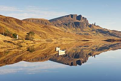Photograph - Golden Light At The Old Man Of Storr by Stephen Taylor