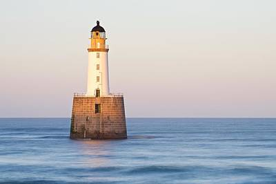 Photograph - Golden Light Hits The Rattray Head Lighthouse by Stephen Taylor