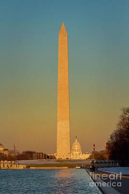 Photograph - Golden Light On Washington by Karen Jorstad