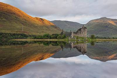 Photograph - Golden Loch Awe by Stephen Taylor