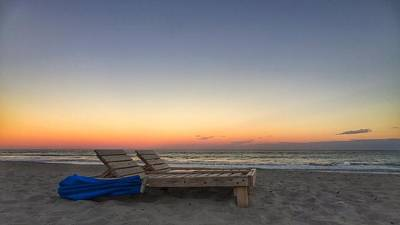 Photograph - Golden Lounge by Juan Montalvo