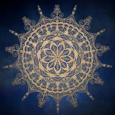 Mixed Media - Golden Mandala by Gabriella Weninger - David