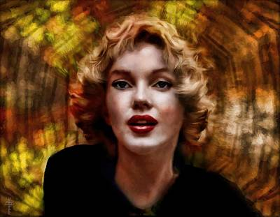 Golden Marilyn  Original by Daniel Arrhakis