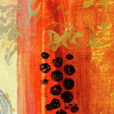 Painting - Golden Marks 1 by Nancy Merkle