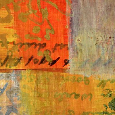 Painting - Golden Marks 12 by Nancy Merkle
