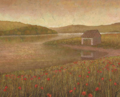 Painting - Golden Meadow 2 by Steve Mitchell