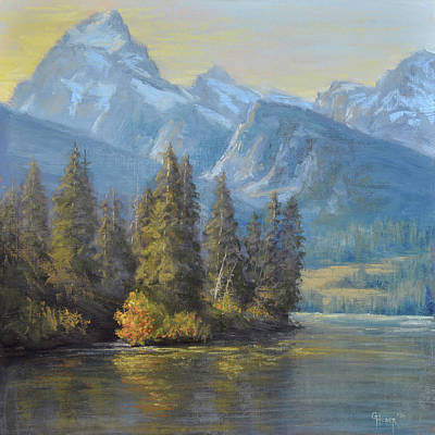 Painting - Golden Moments by Gary Huber