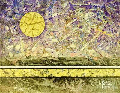 Golden Moon I Original by Paul Henderson