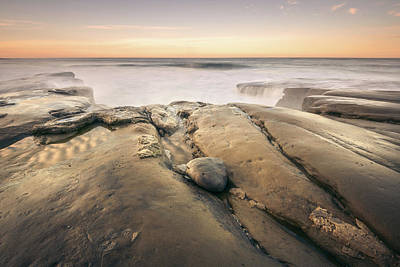 Photograph - Golden Morning At Windansea Beach by Alexander Kunz