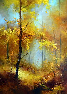 Painting - Golden Morning by Igor Medvedev