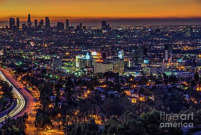 Photograph - Golden Morning Sunrise Magic Hour by David Zanzinger