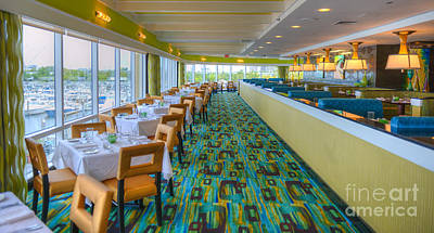 Photograph - Golden Nugget Restaurant Atlantic City 2 by David Zanzinger