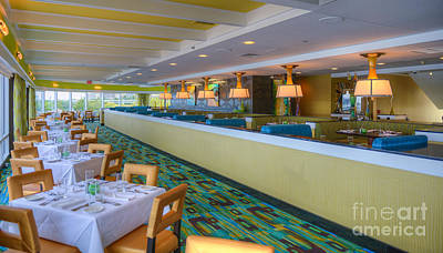 Photograph - Golden Nugget Restaurant Atlantic City 5 by David Zanzinger