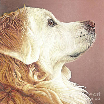 Art Print featuring the painting Golden Oldie by Donna Mulley
