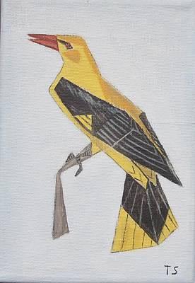 Golden Oriole Art Print