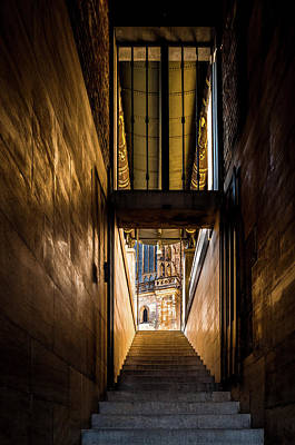 Photograph - Golden Passageway by M G Whittingham