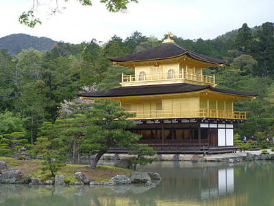 Photograph - Golden Pavilion by Vivian Stearns-Kohler
