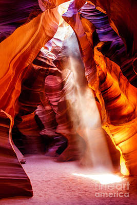 Light Photograph - Golden Pillars by Az Jackson