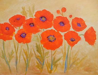 Painting - Magical Poppies by Caroline Patrick