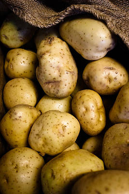 Photograph - Golden Potatoes by Colleen Kammerer