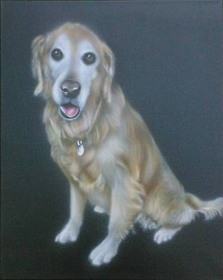 Painting - Golden Retriever by Bas Hollander