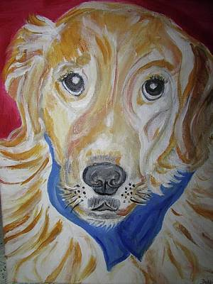 Painting - Golden Retriever by Debby Reid