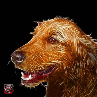 Painting - Golden Retriever Dog Art- 5421 - Bb by James Ahn