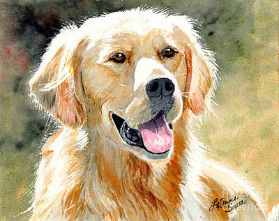 Painting - Golden Retriever Light by LeAnne Sowa