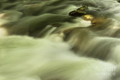 Photograph - Golden River by Mike Eingle