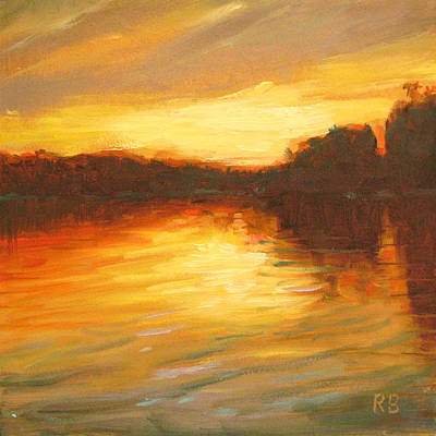 Painting - Golden by Robie Benve