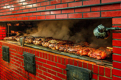 Photograph - Golden Rule Bar B Q In Birmingham Alabama by Michael Thomas