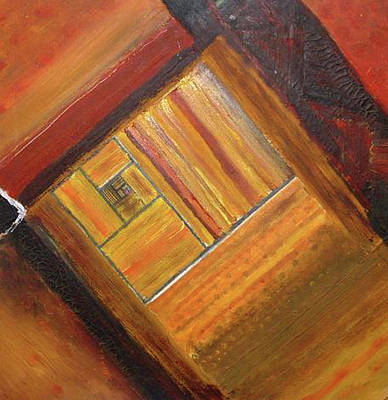 Golden Mean Painting - Golden Rule by Shannon Hill